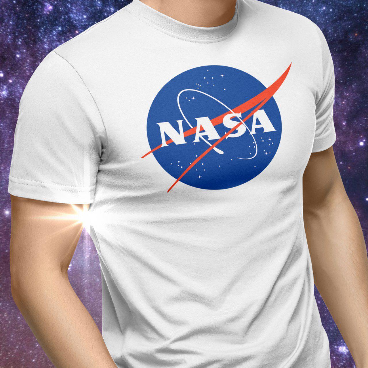 Camiseta NASA (Branca)