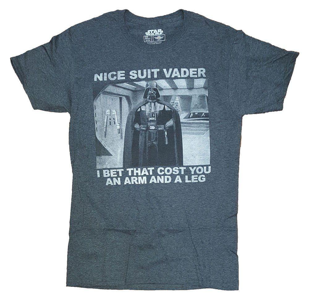 Camiseta Nice Suit Vader: Star Wars (Preto)