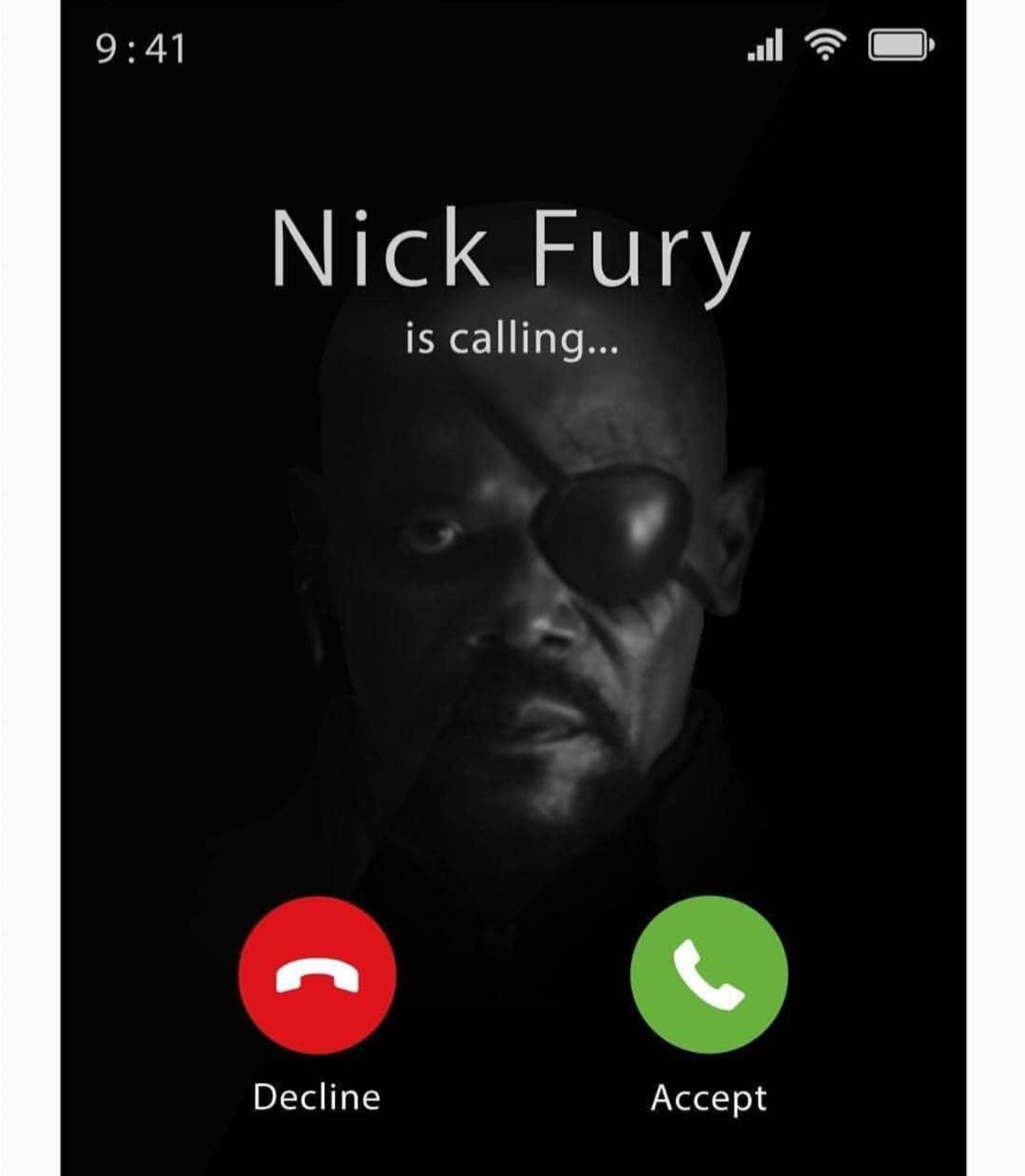 Camiseta Nick Fury is Calling - Marvel - Exclusiva Toyshow