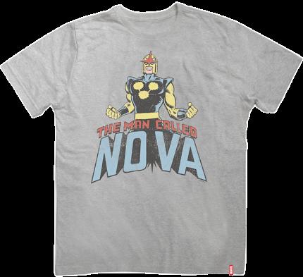 Camiseta Nova: The Man Called Marvel - Studio Geek
