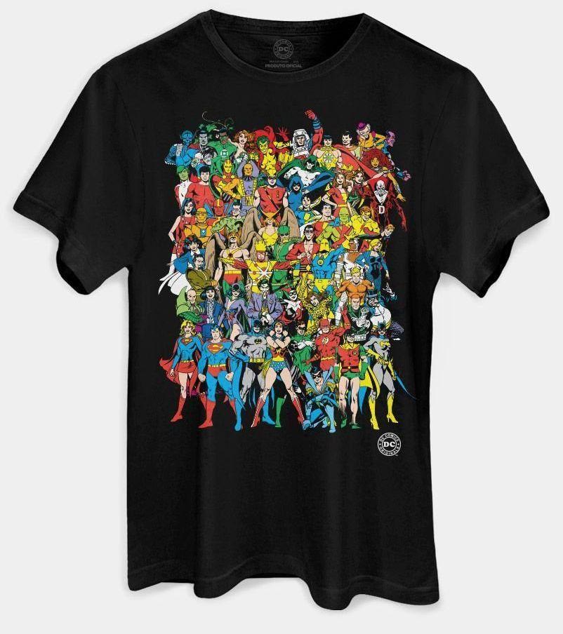 Camiseta Originals: DC Comics - BandUp!