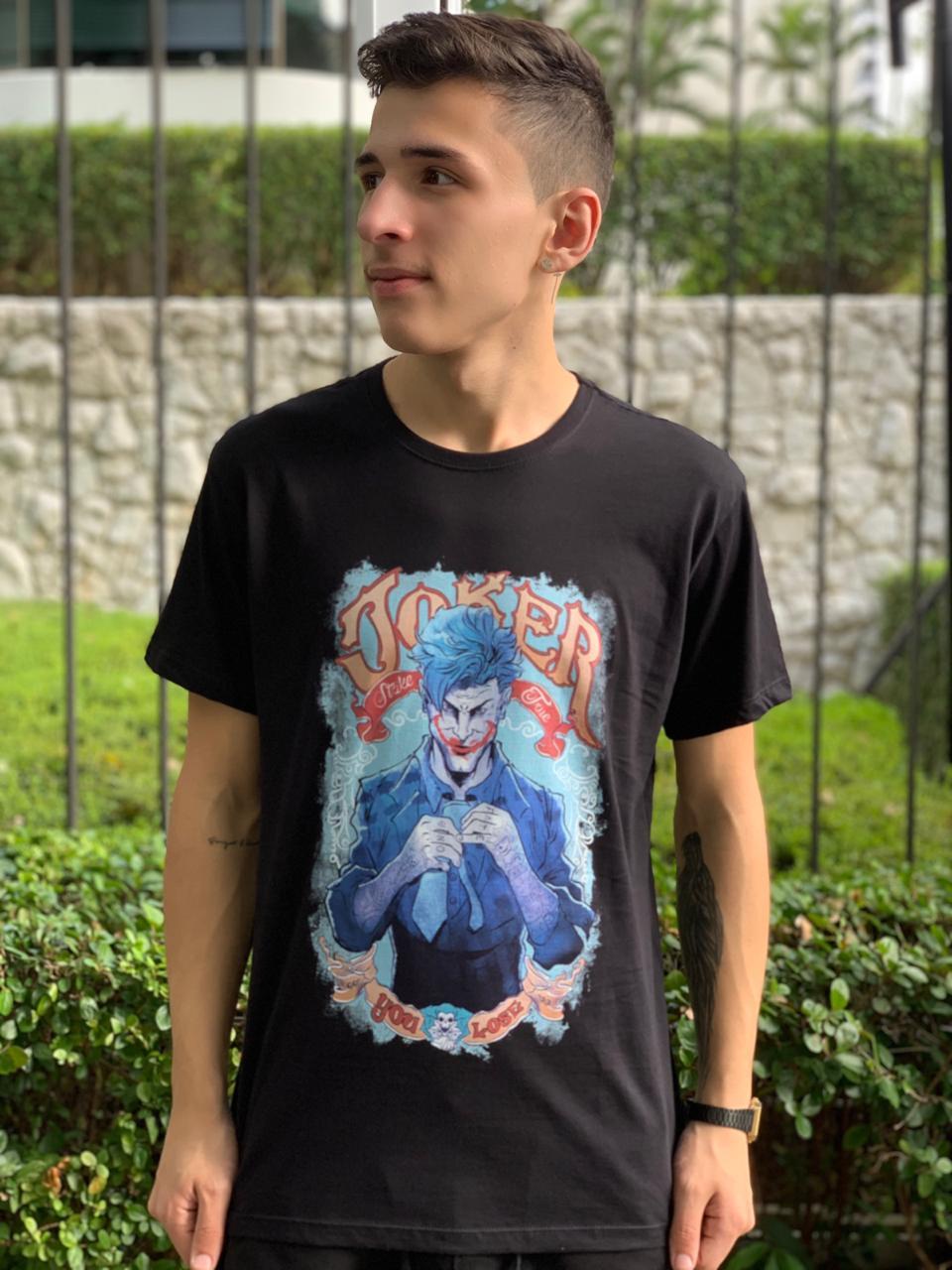 Camiseta Palhaço (Preto)