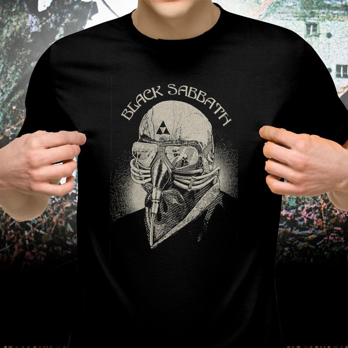 Camiseta Piloto: Black Sabbath
