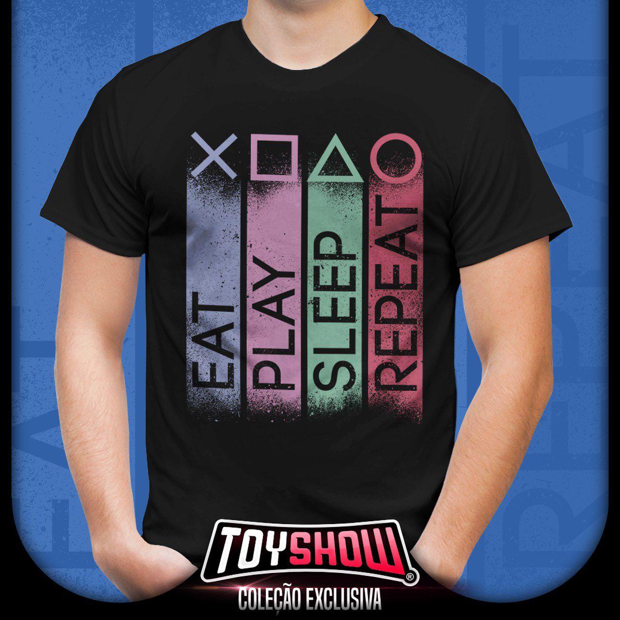 Camiseta Unissex PlayStation