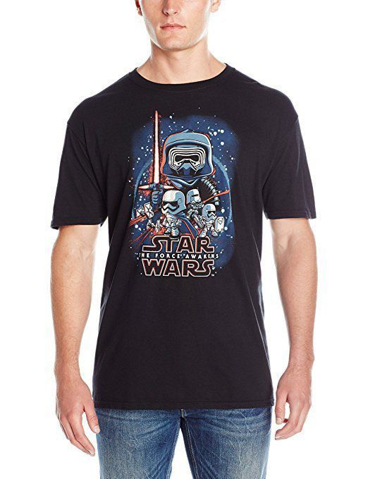 Camiseta POP! Teens Star Wars: The Force Awakens Poster - M