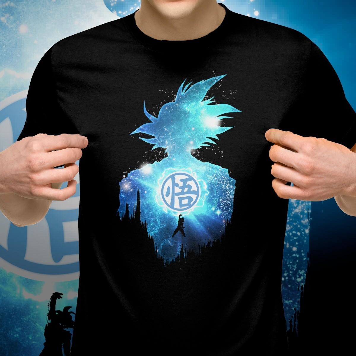Camiseta Preta Unissex Goku: Dragon Ball Z - EV - Anime Mangá