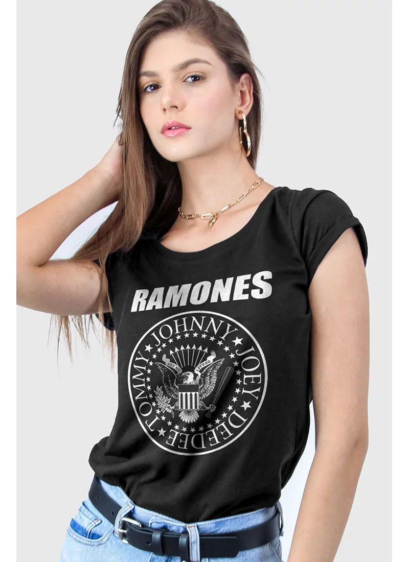Camiseta Ramones Logo - BandUp!