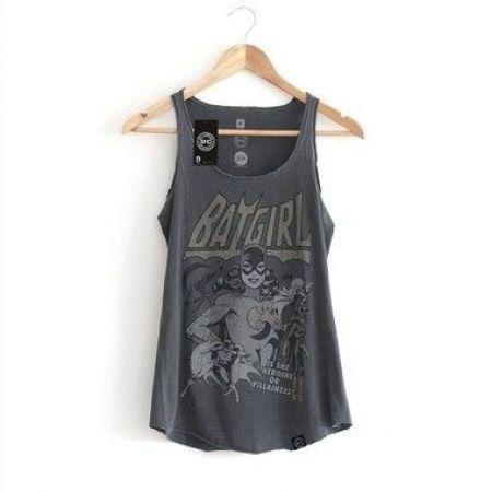 Camiseta Regata Feminina Batgirl - Studio Geek