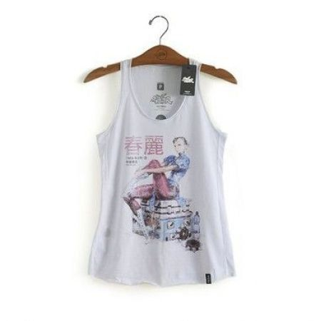 Camiseta Regata Feminina Chun-Li - Studio Geek