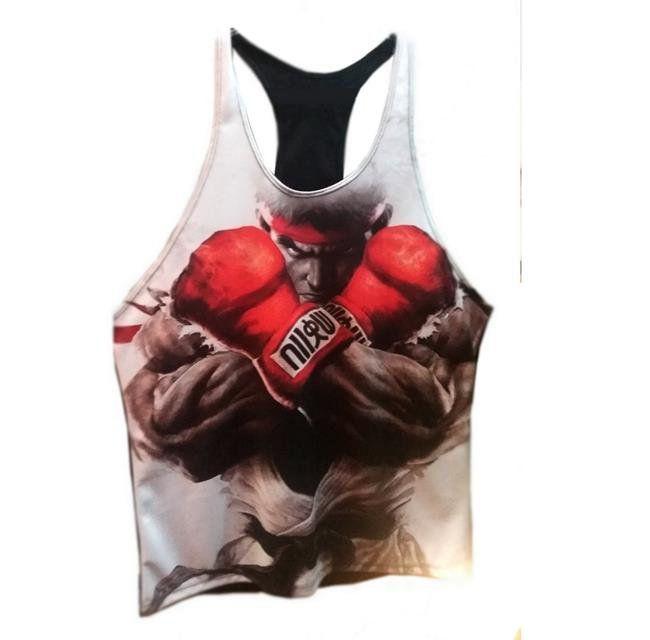 Camiseta Regata Street Fighter: Ryu