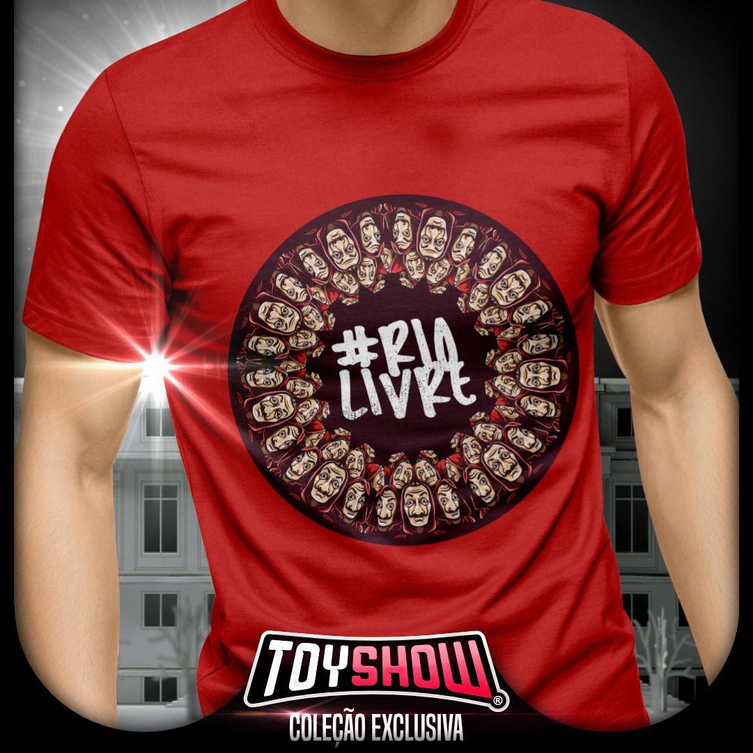 Camiseta Rio Livre: La Casa de Papel - Toy Show