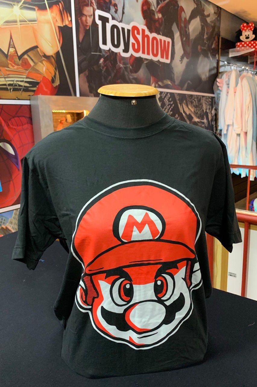 Camiseta Rosto Mario: Super Mario Bros