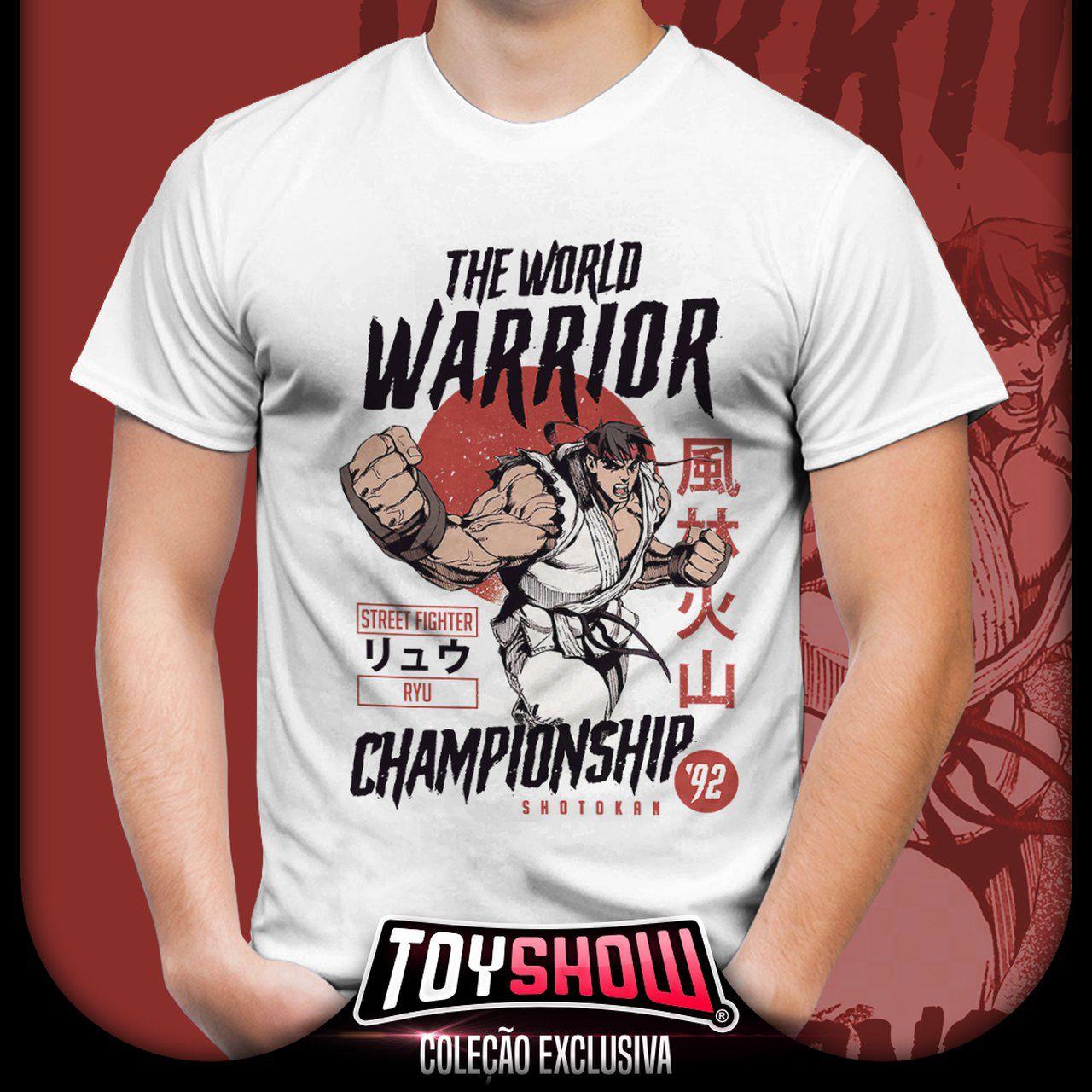 Camiseta Ryu