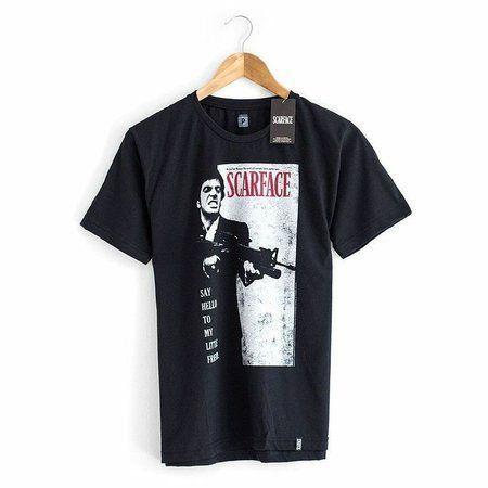 Camiseta Scarface Preta