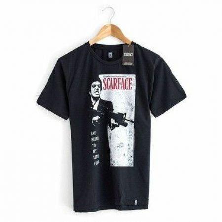 Camiseta Scarface Preta - Studio Geek