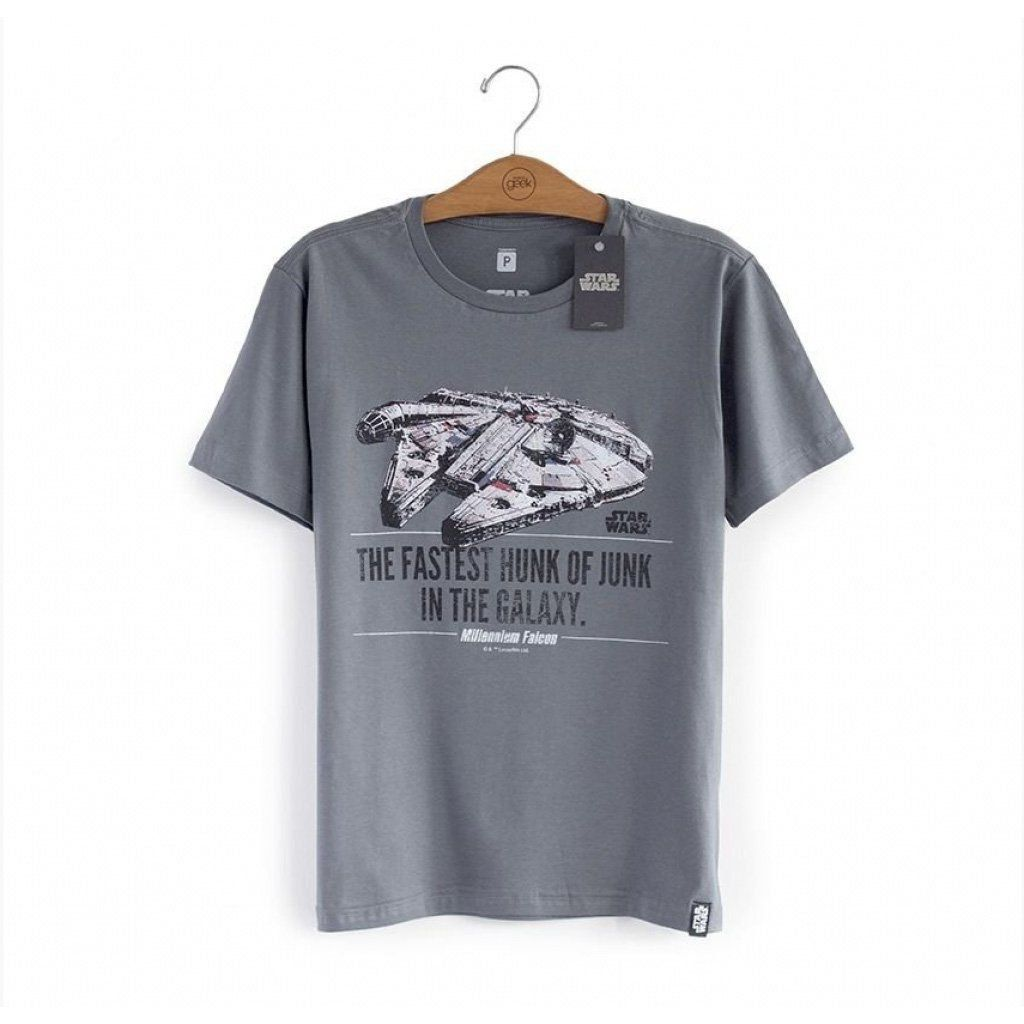 Camiseta Star Wars  Millennium Falcon - Studio Geek