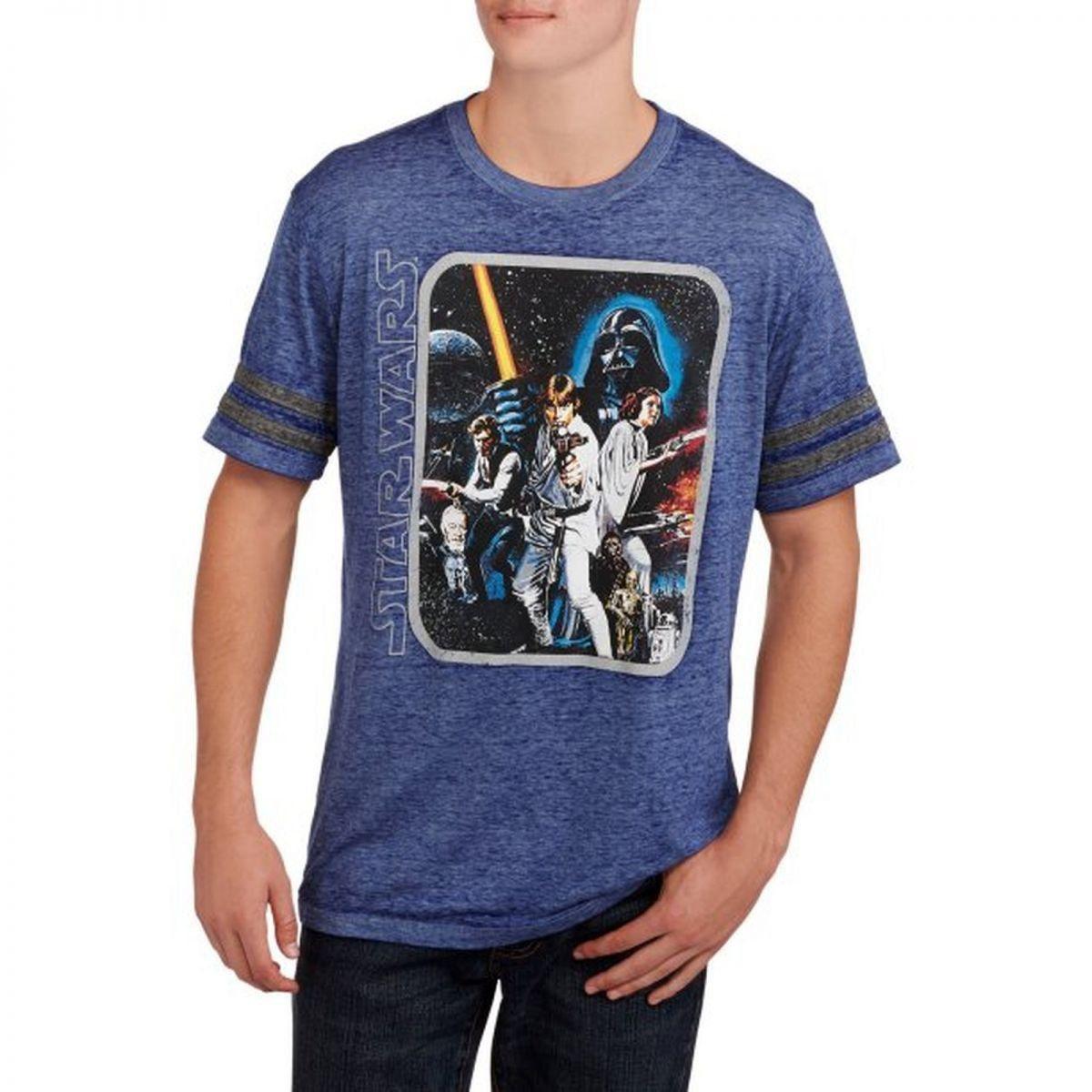 Camiseta Star Wars: Personagens
