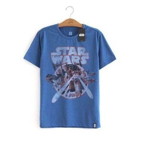Camiseta Star Wars Space Battle - Studio Geek