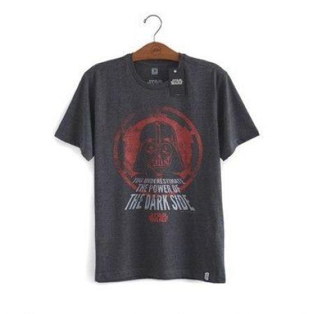 Camiseta Star Wars The Power of The Dark Side - Studio Geek