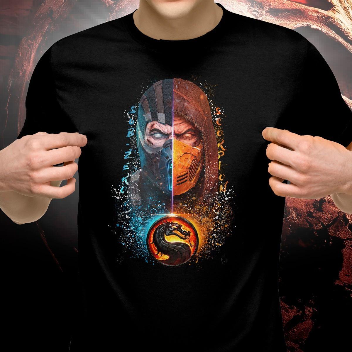Camiseta Subzero e Scorpion: Mortal Kombat