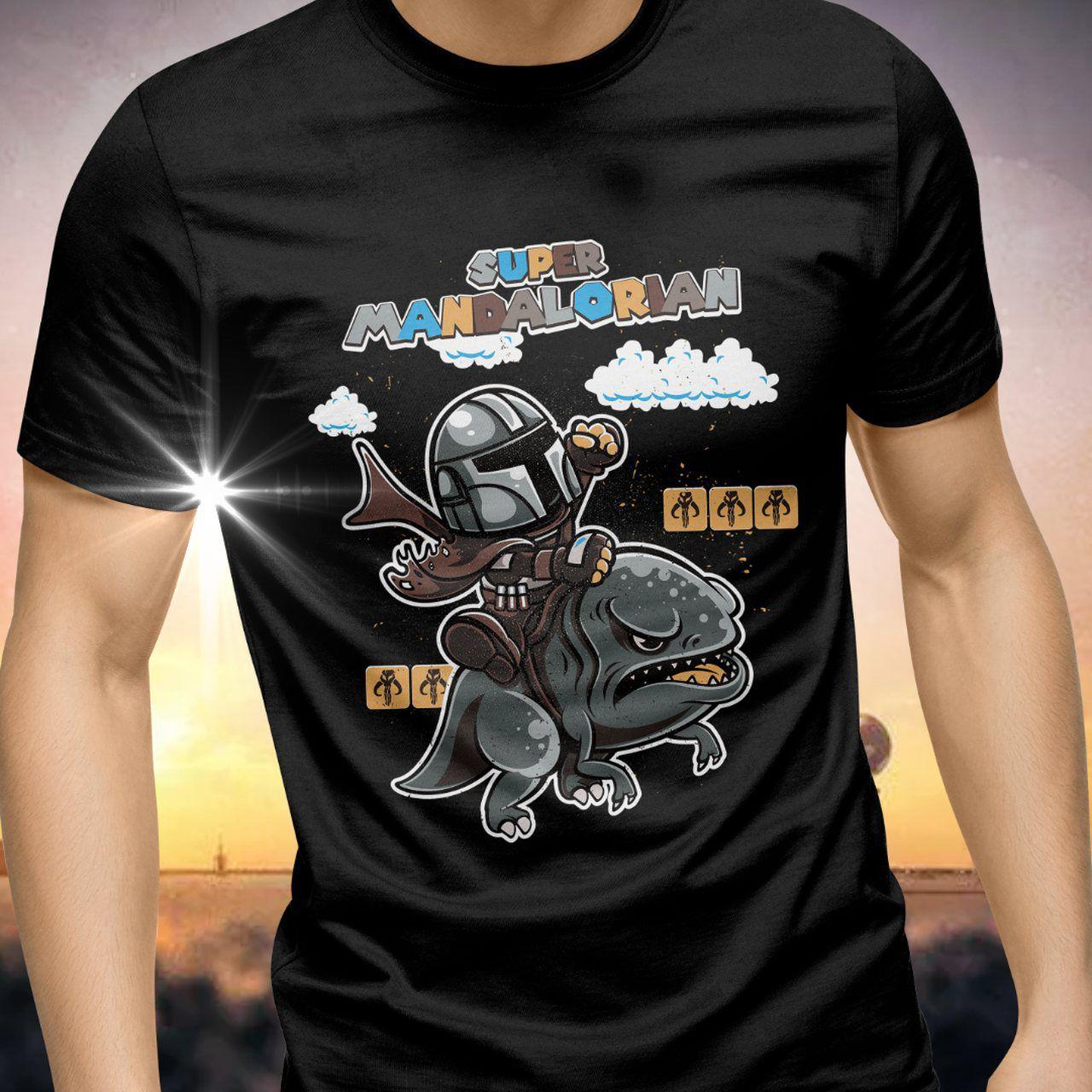 Camiseta Super Mandalorian: Star Wars - Exclusiva ToyShow