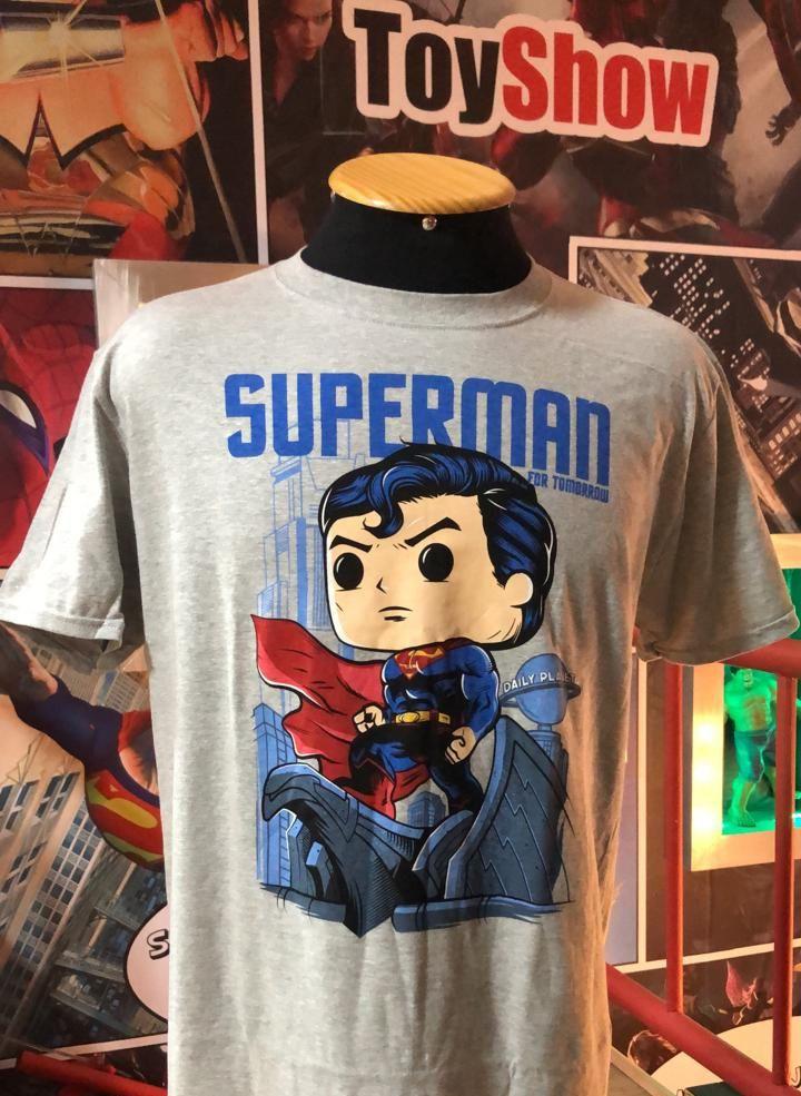 Funko Camiseta Superman (Hush): DC Collection Jim Lee (Exclusivo) - Funko