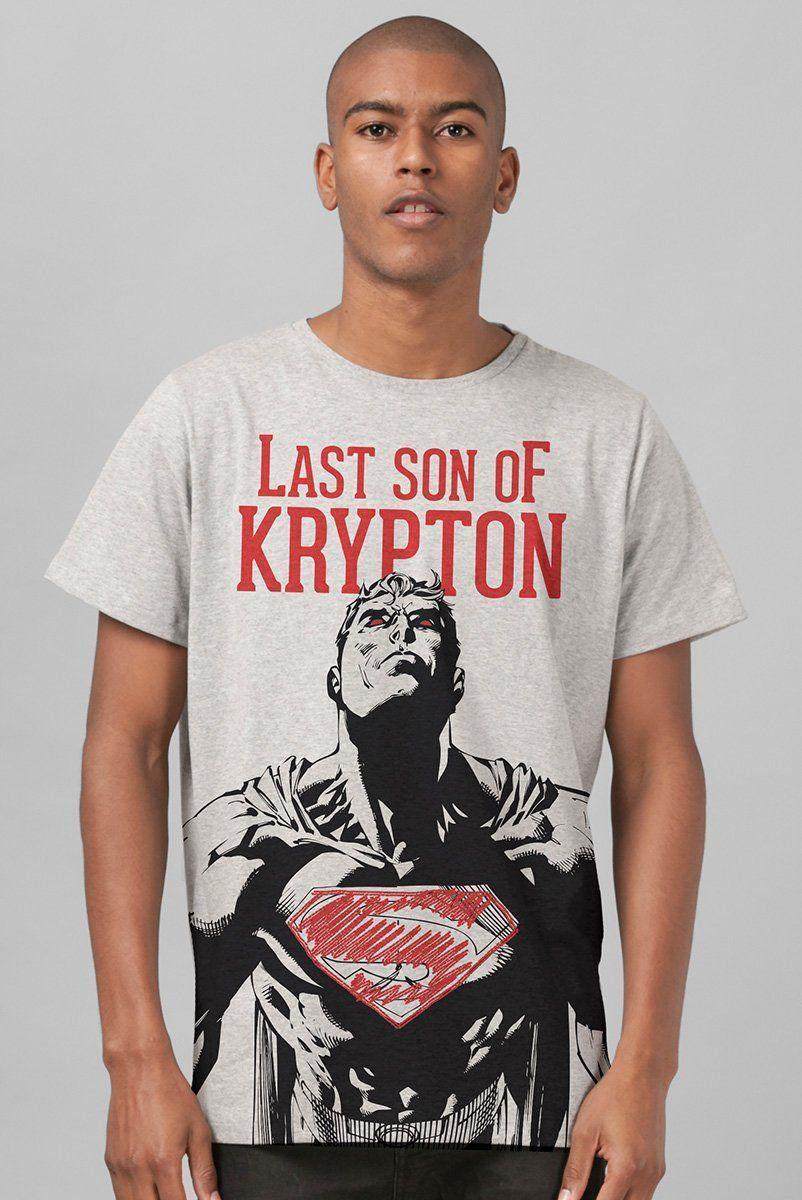 Camiseta Superman Last Son of Krypton: DC Comics - BandUp!