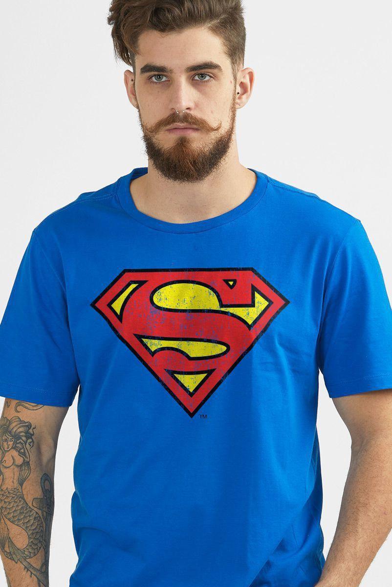 Camiseta Superman Logo Oficial: DC Comics - BandUp!