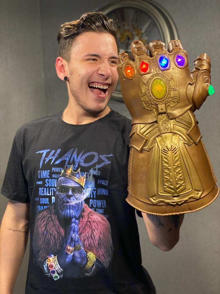 Camiseta Thanos Gângster: Marvel