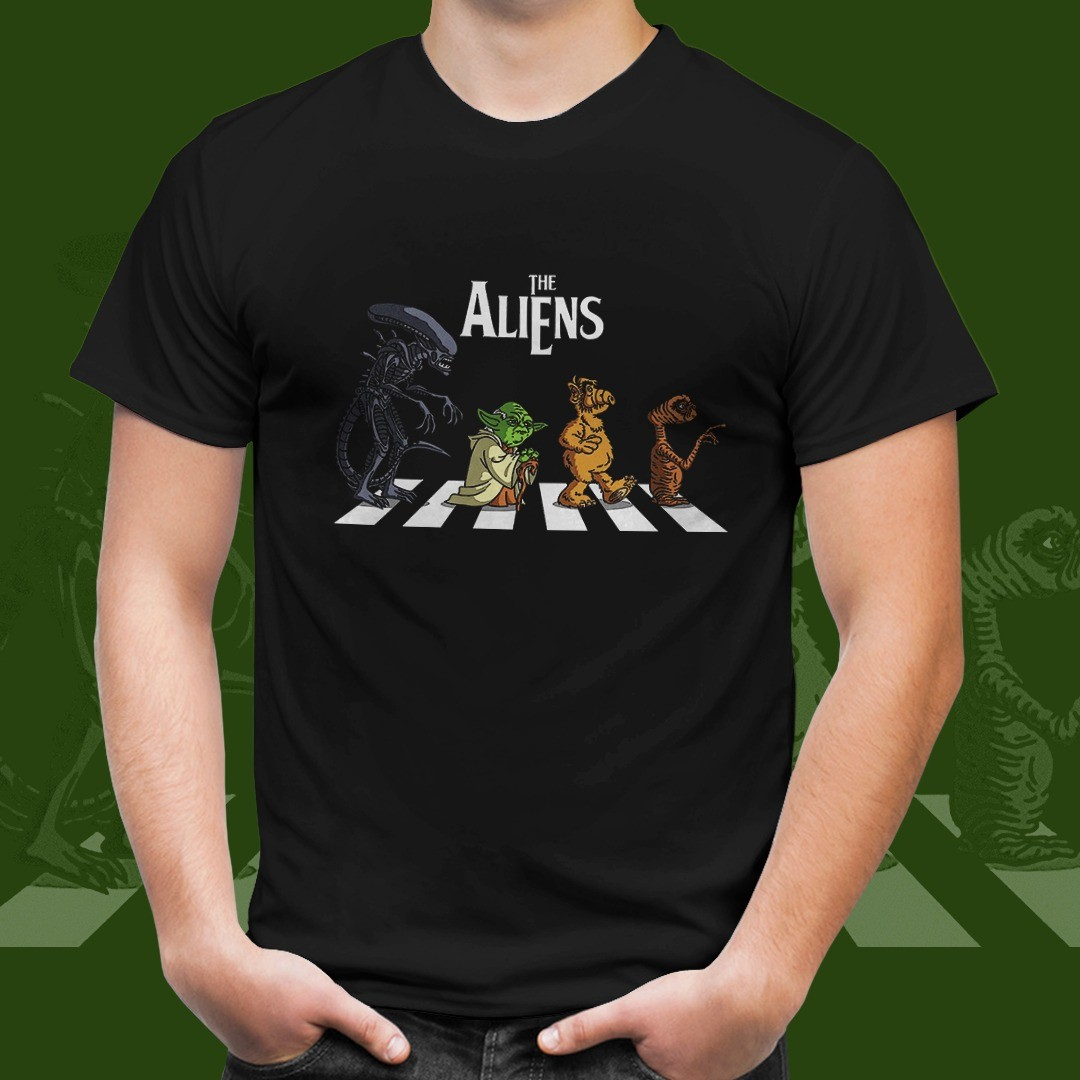 Camiseta The Aliens: Star Wars (Preto)