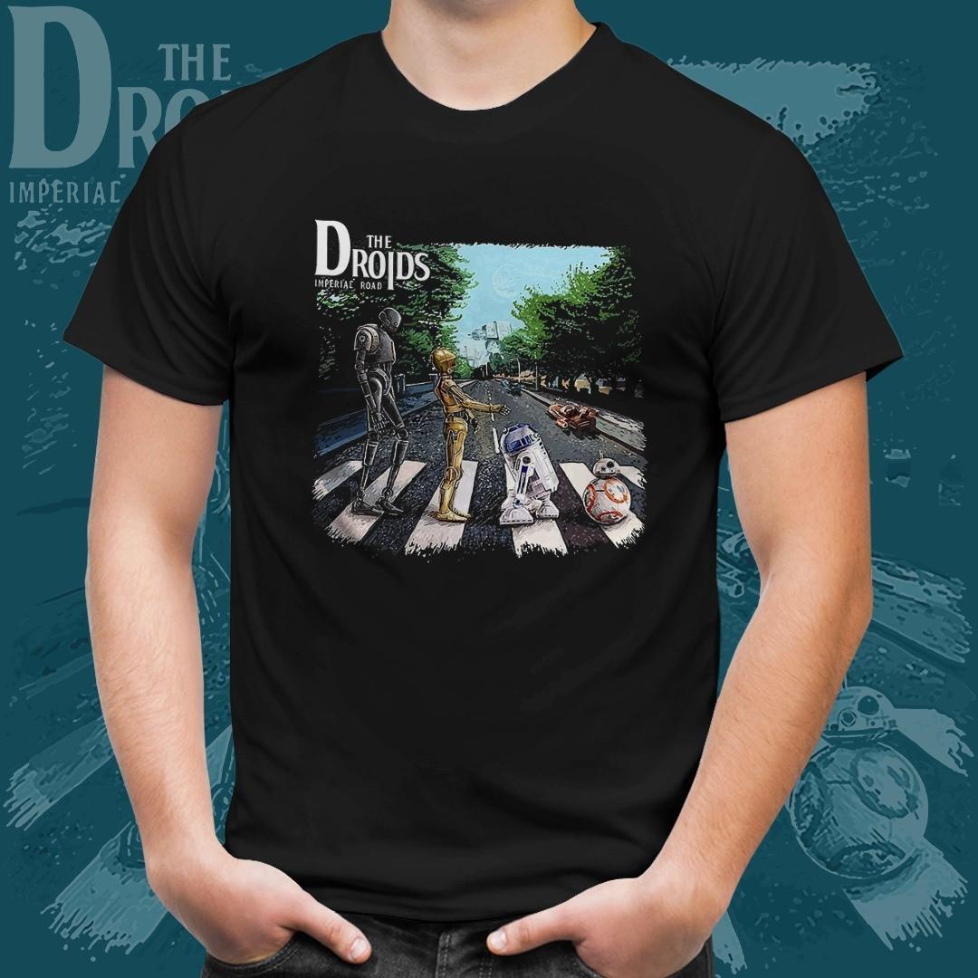Camiseta The Droids: Star Wars (Preto)