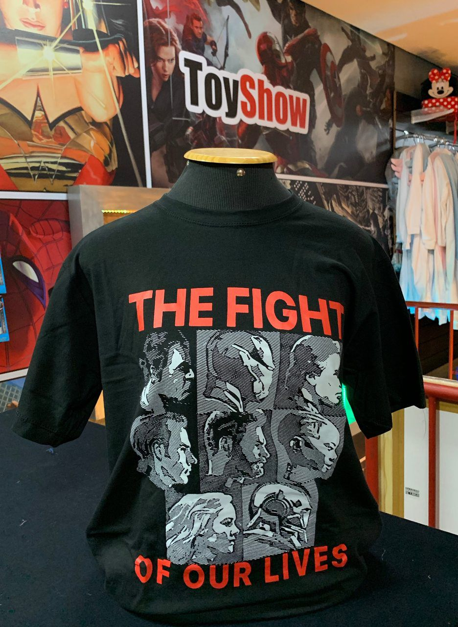 Camiseta The Fight of Our Lives (A Luta de Nossas Vidas): Vingadores Ultimato (End Game)