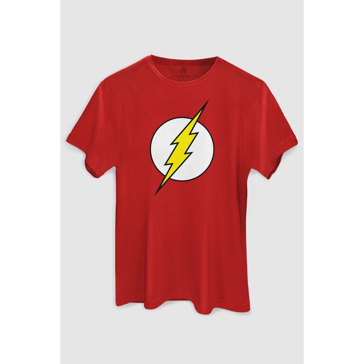 Camiseta The Flash Logo: DC Comics