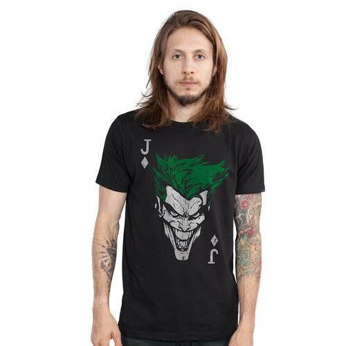 Camiseta The Joker Card: Coringa (The Joker) Dc Comics - BandUp!