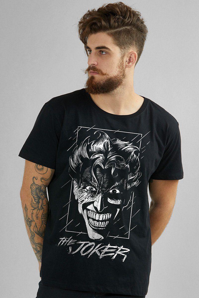 Camiseta The Joker Face: DC Comics - BandUp!