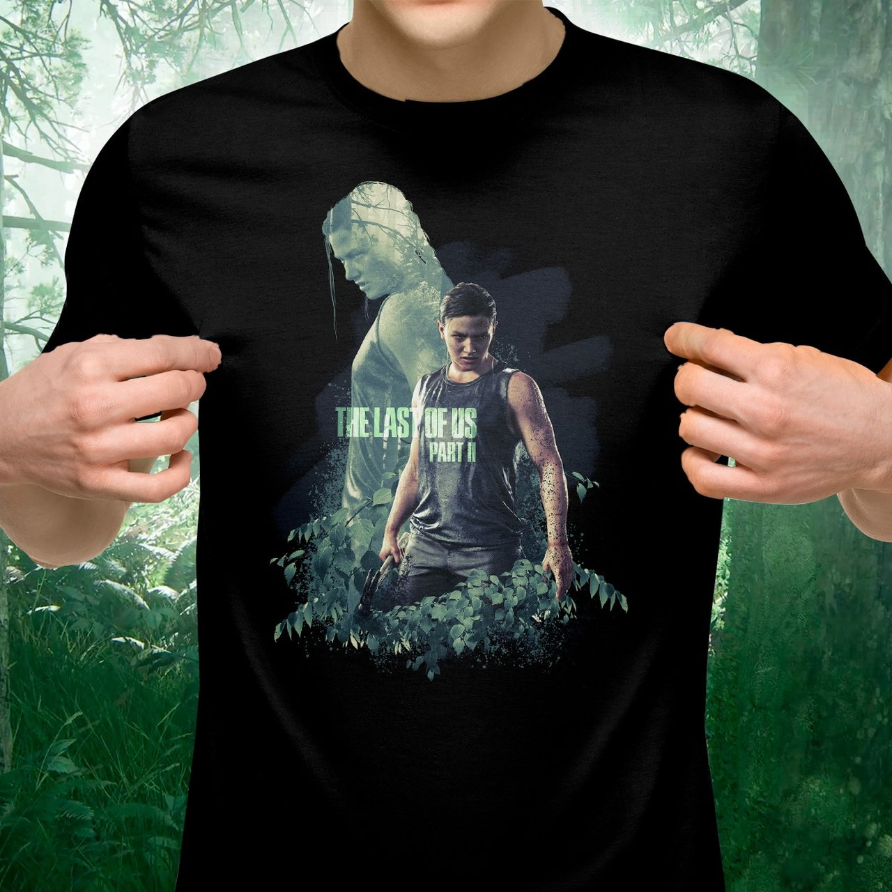 Camiseta: '' The Last of Us Parte II