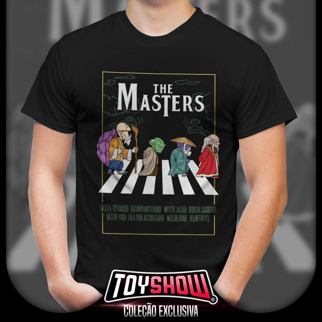 "Camiseta ""The Masters"" - Exclusiva Toyshow"