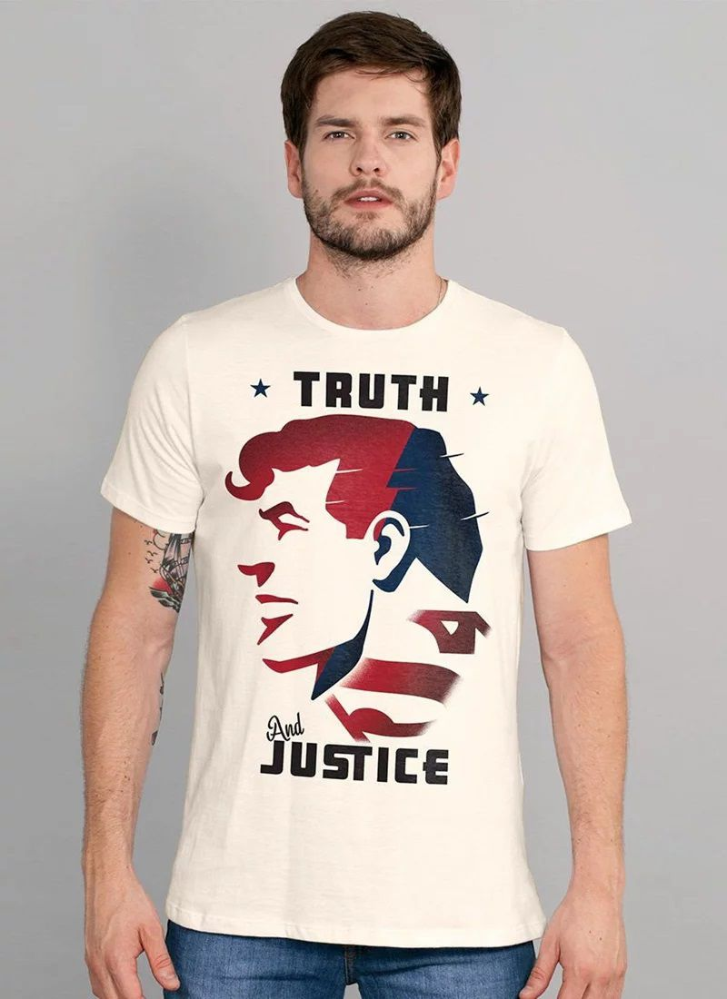 Camiseta Thuth And Justice: Super-Homem (Superman) Dc Comics - BandUp!
