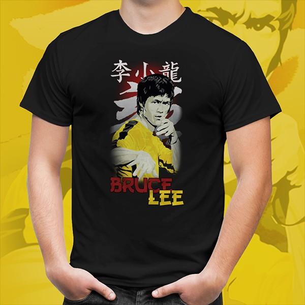 Camiseta Unissex A Lenda de Bruce Lee - EV