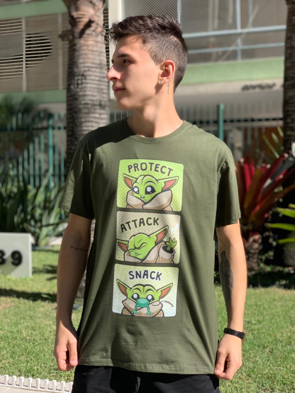 Camiseta Unissex Baby Yoda (The Child)