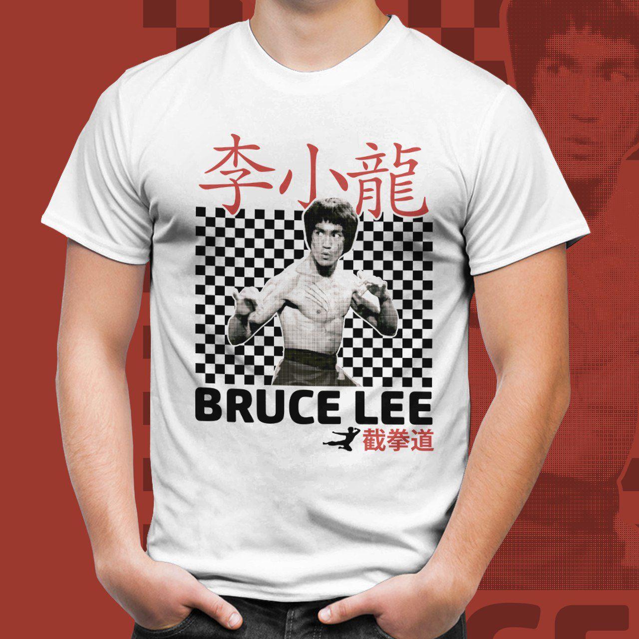 Camiseta Unissex Bruce Lee