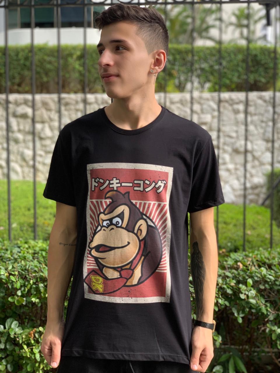 Camiseta Unissex Donkey Kong