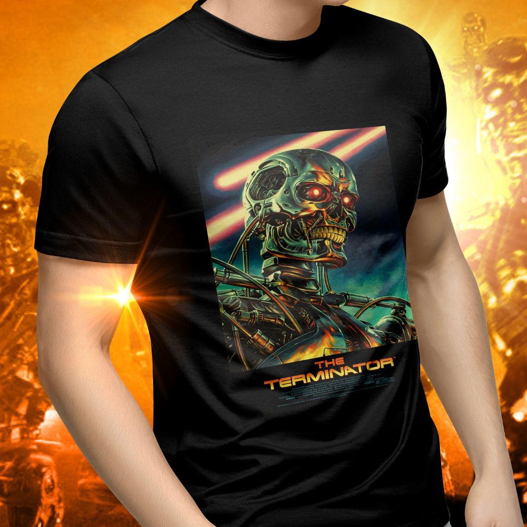 Camiseta Unissex Endoskeleton: O Exterminador do Futuro (The Terminator)
