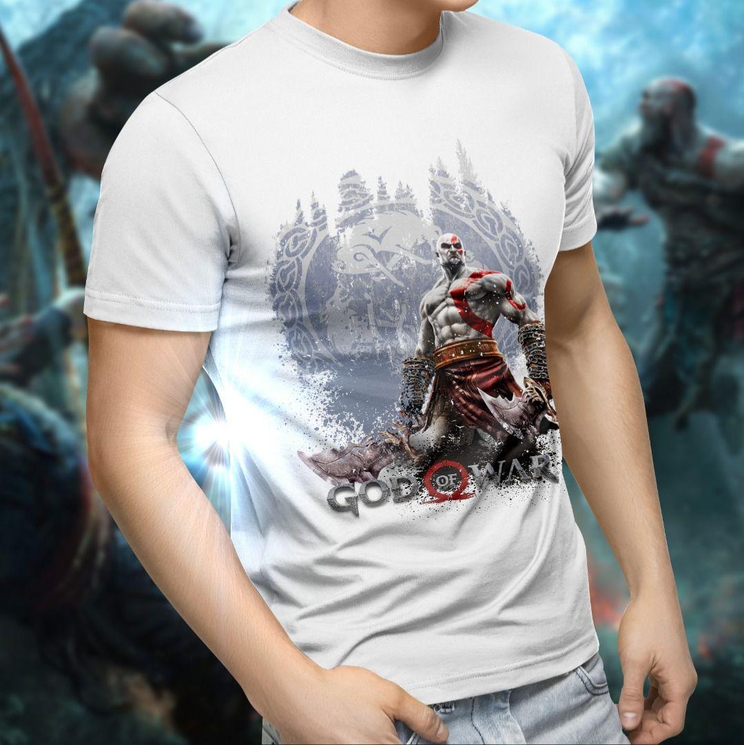Camiseta Unissex Gratos: God of War