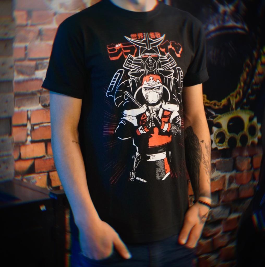 Camiseta Unissex Jiraiya: O Incrível Ninja e Deus Jiray Tokusatsu Tamanho M