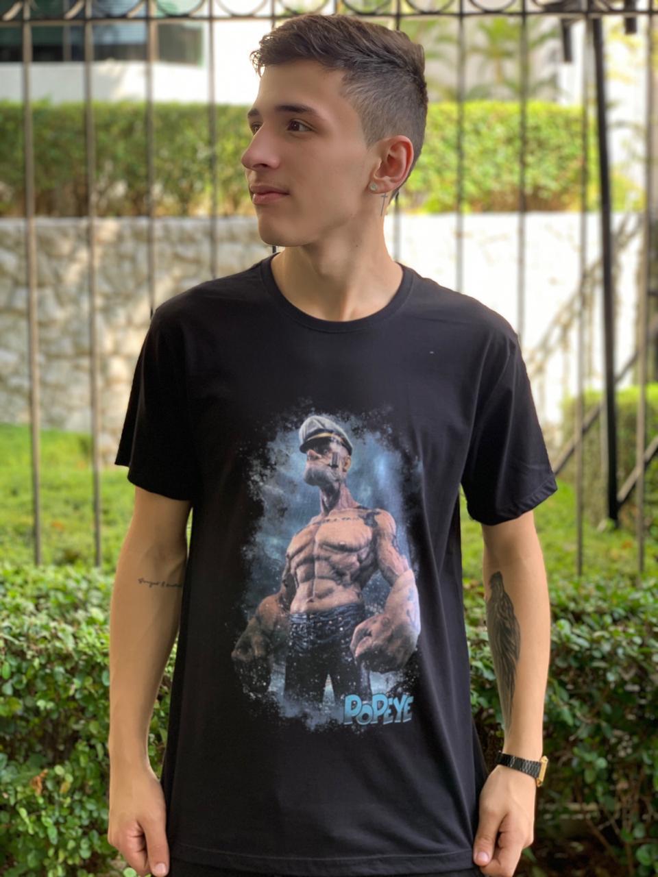 Camiseta Unissex Marinheiro Popeye