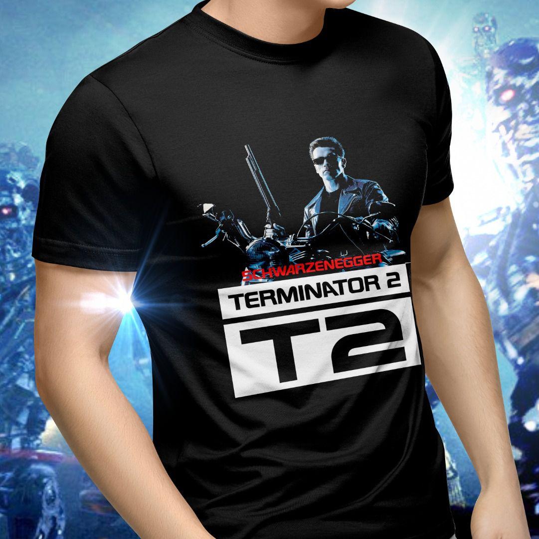 Camiseta Unissex O Exterminador do Futuro 2 (Terminator 2)