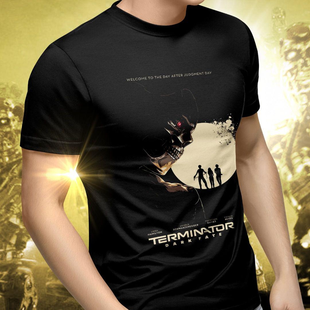 Camiseta Unissex O Exterminador do Futuro Destino Sombrio (Terminator Dark Fate)