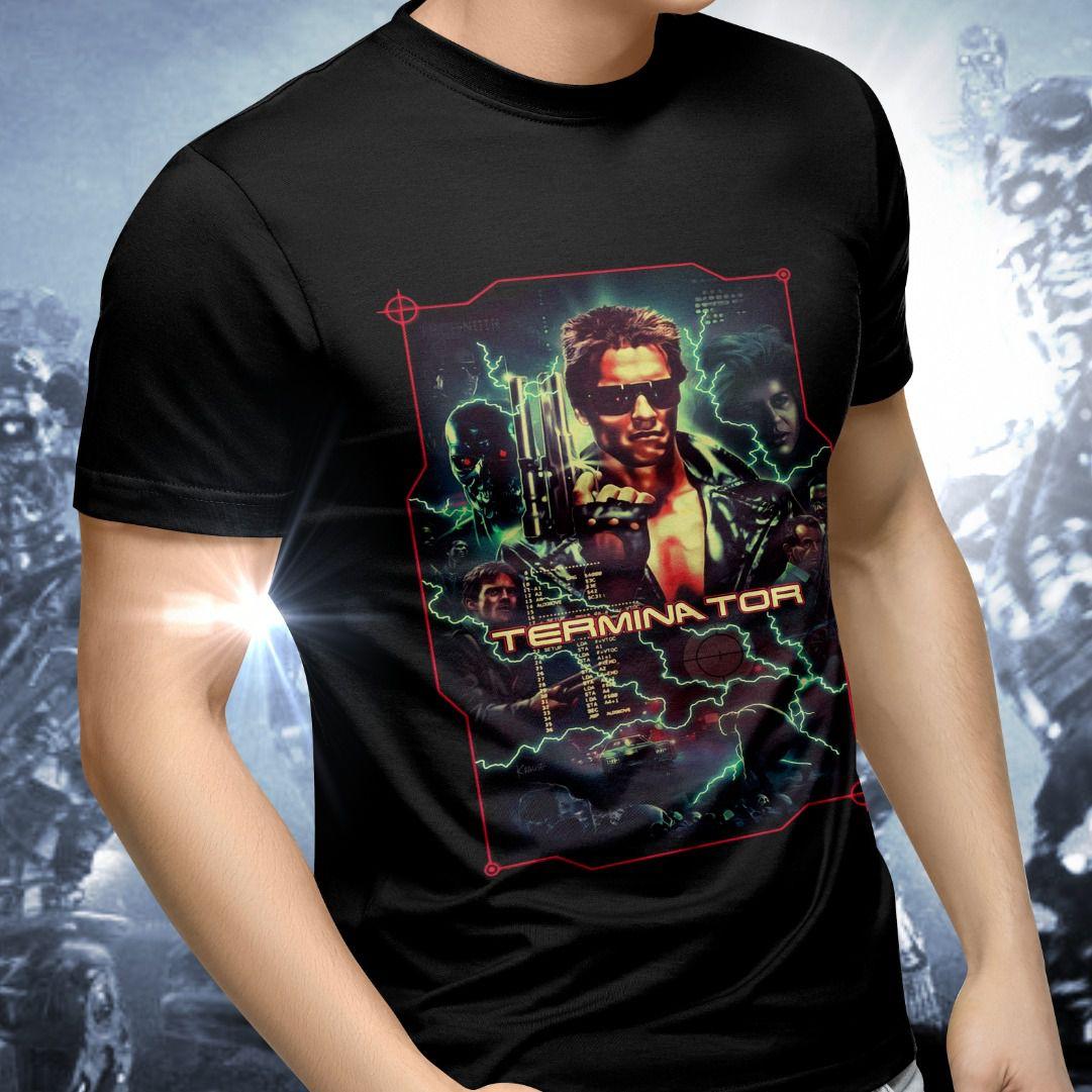 Camiseta Unissex O Exterminador do Futuro (The Terminator)