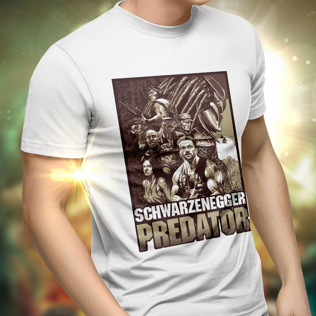 Camiseta Unissex O Predador (Predator)
